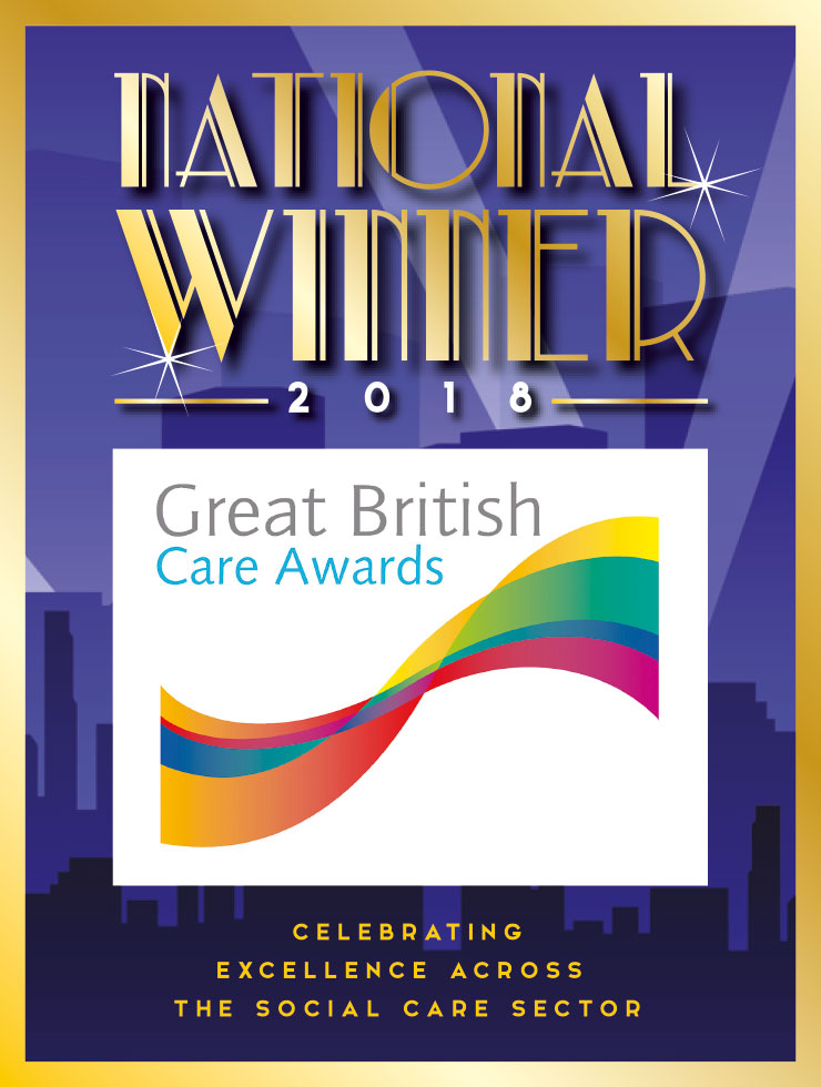 Great British Care Awards - National Winner 2018
