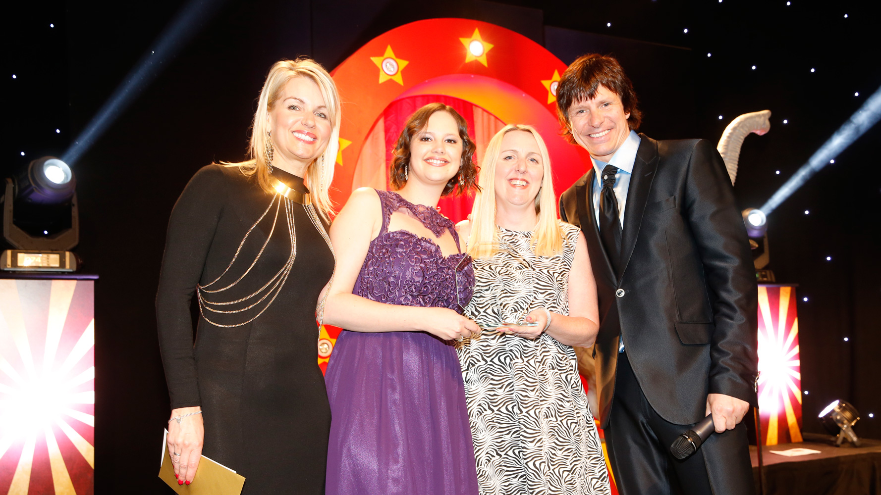 Carebase staff celebrate award success