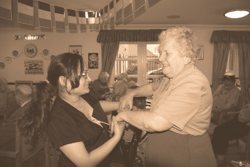 St Patricks Day celebrations at Redhill care home