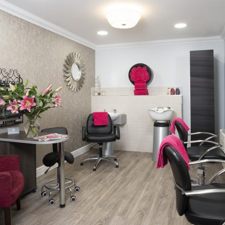 Hair salon and nail bar