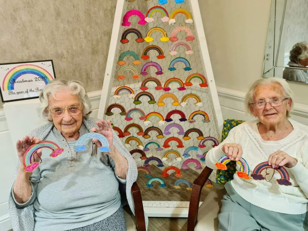 Acorn Court Care Home Rainbows